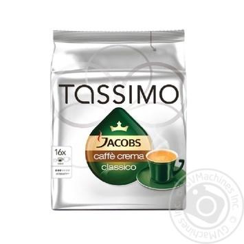 Jacobs Tassimo Crema ground coffee 16*7g - buy, prices for MegaMarket - image 1
