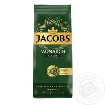 Кава Jacobs Monarch Classic мелена 450г - купити, ціни на Метро - фото 1