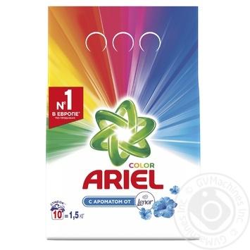 Стиральный порошок Ariel Touch of Lenor Fresh Color автомат 1500г