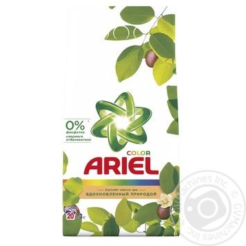 Powder detergent Ariel shea butter for washing 3000g