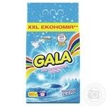 Порошок Gala для цветных вещей морская свежесть автомат 6 кг