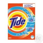 Laundry detergent powder Tide 2in1 Lenor Effect for hand laundry 400g