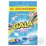 Порошок стиральный Gala Морская свежесть для цветных вещей автомат 4кг
