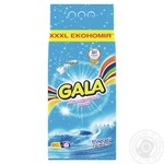 Порошок стир Gala Морская свежесть цвет/вещей авт 8кг