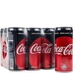 Coca-cola Zero carbonated beverage 330ml