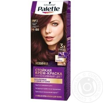 Краска для волос Palette интенсивный колір 4-88 (RF3) красный гранат 110мл - купить, цены на Novus - фото 1