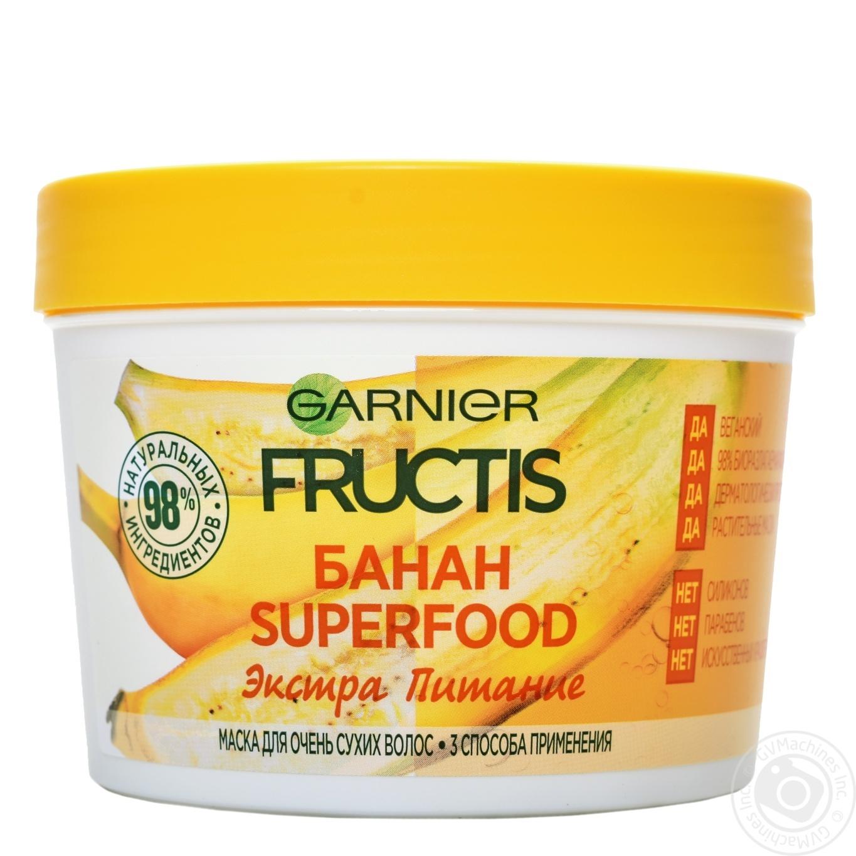 Маска Fructis SupFood Банан д сухого волосся 390мл → Гігієна ... 845e026420421