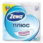 Toilet paper Zewa white 4pcs