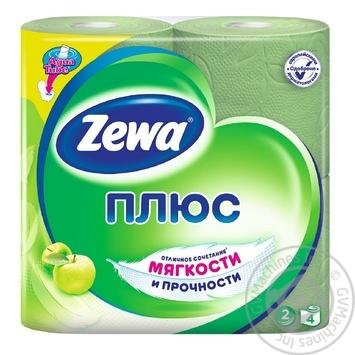 Toilet paper Zewa green 4pcs