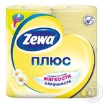 Zewa Plus with camomile aroma yellow 2-ply toilet paper 4 pieces