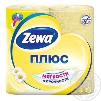 Toilet paper Zewa with chamomile 4pcs