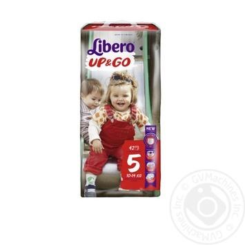 Подгузники Libero Up&Go 5 10-14кг 42шт