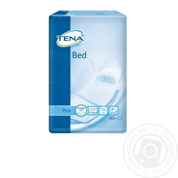 Пеленки Tena Bed Plus впитывающие 60x60 30шт