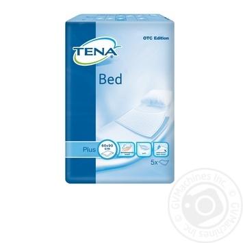 Пеленки Tena Bed целлюлозные поглощающие для взрослых 60смх90см 5шт