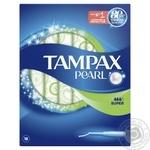 Тампоны Tampax Discreet Pearl Super с апликатором 18шт