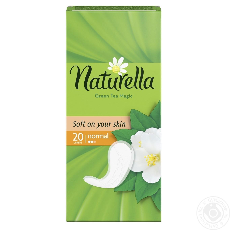 Liners Naturella Green Tea Magic Normal 20pcs