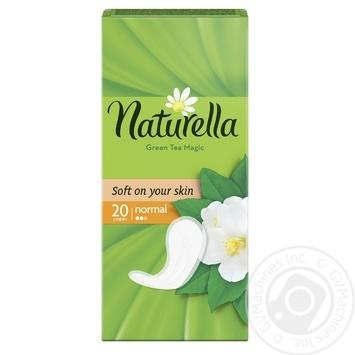 Щоденні прокладки Naturella Green Tea Magic Normal 20шт