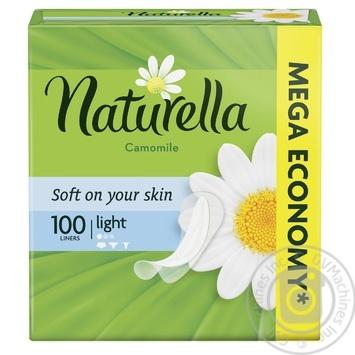 Ежедневные прокладки Naturella Сamomile Light 100шт