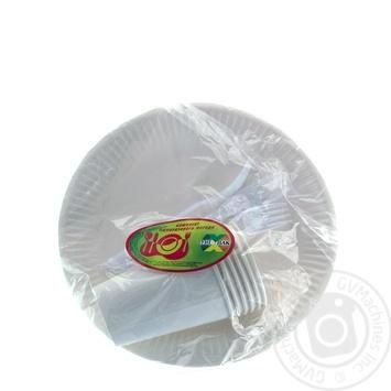 Набір Паперовий Уніпак на 6 персон - купити, ціни на Novus - фото 1