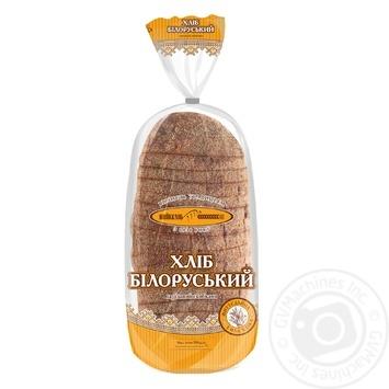 Хлеб КиевХлеб Белорусский ржаной нарезанный 700г - купить, цены на Novus - фото 1