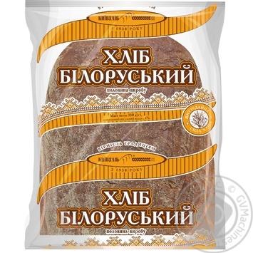 Хлеб КиевХлеб Белорусский подовый половинка 350г - купить, цены на Novus - фото 1
