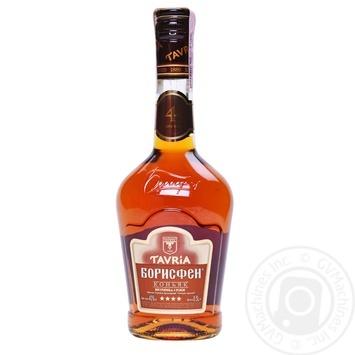 Tavria Borisfen 4 Yrs Cognac 40% 0,5ml - buy, prices for CityMarket - photo 3