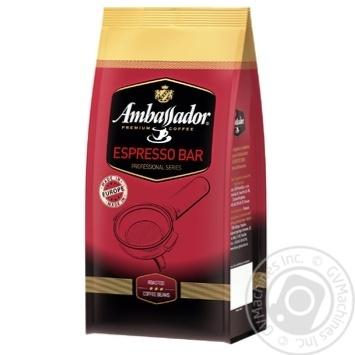 Кофе в зернах Ambassador Espresso Bar 1000г - купить, цены на МегаМаркет - фото 1