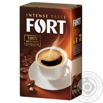 Fort ground coffee 250g - buy, prices for Novus - image 1