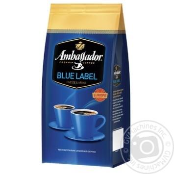 Кофе Ambassador Blue Label в зернах 1кг - купить, цены на Novus - фото 1