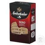 Кофе Ambassador Nero молотый 225г
