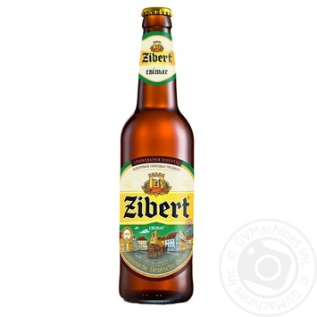 Пиво Zibert светлое 0,5л стекло - купить, цены на Novus - фото 1