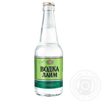 Напій Оболонь Водка Лайм слабоалкогольний сильногазований 0,33л скло - купити, ціни на CітіМаркет - фото 3