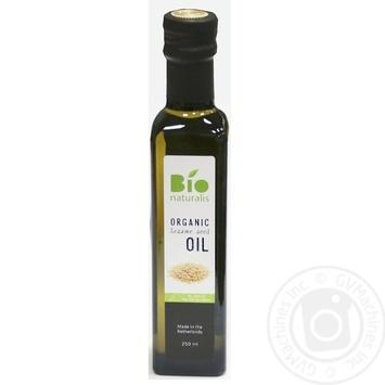 Олія з кунжуту Bionaturalis органічна нерафінована 250мл