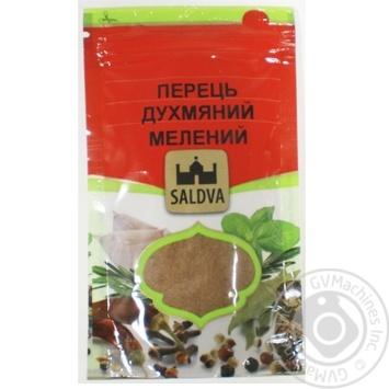 Душистий перець молотий 30г Saldva