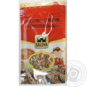 Приправа Saldva Королівська з грибами 20г