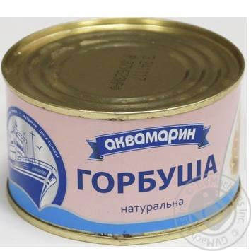 Горбуша Аквамарин натуральна 230г - купити, ціни на Novus - фото 4
