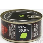 Meat Zdorovo ostrich canned 325g can