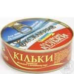 Кільки балтійські обсмажені в томатному соусі Морской Пролив кл.ж/б №3240г