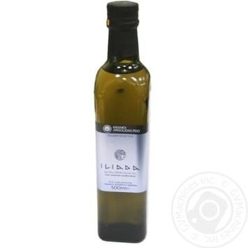 Олія оливкова нерафінована першого віджиму Краниди Арголита PDO Іліада 500мл