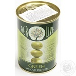 olive green with bone 280g can