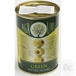olive green pitted 280g can