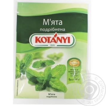 Приправа Kotanyi Мята измельченная 24г