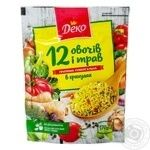 Приправа Деко універсальна 12 овочів і трав в гранулах 170г