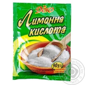 Лимонная кислота Деко 90г - купить, цены на МегаМаркет - фото 5