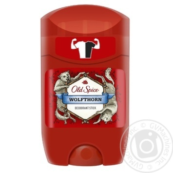 Old Spice Wolfthorn Solid Deodorant 50ml - buy, prices for Furshet - image 1