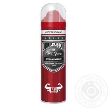 Аерозольний дезодорант-антиперспірант OLD SPICE Odour Blocker Strong Swagger 150 мл
