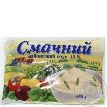 Майонезный соус вкусный 15% 150г