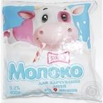 Молоко Злагода для харчування дітей від 9 місяців стерилізоване 3,2% 400г