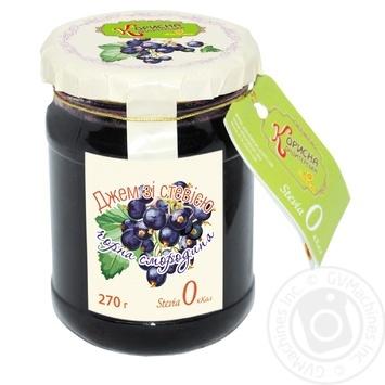 Джем Черная смородина со стевией 270г - купить, цены на Novus - фото 2