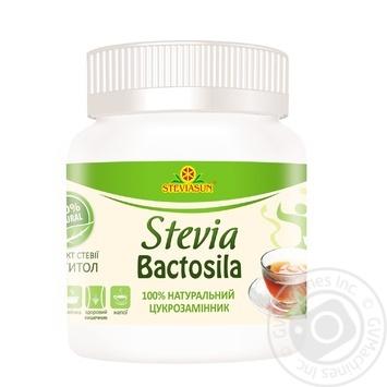 Сахарозаменитель Steviasun Stevia Бактосила 80г - купить, цены на Novus - фото 1